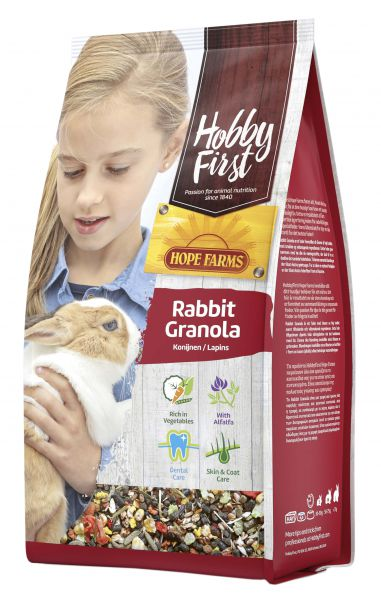 Hobbyfirst Hopefarms Rabbit Granola