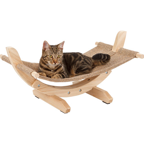 Kattenhangmat Siesta Bruin