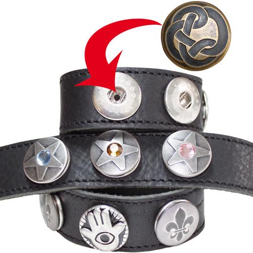 Armband Ornamentalo Zwart