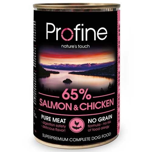 Hondensnack pure meat zalm-kip | Profine