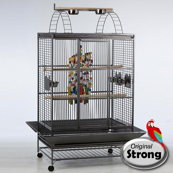 Papegaaienkooien | Papegaaienkooi Aida Grijs