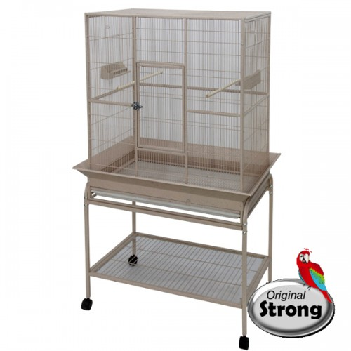 Original Strong Vogelkooi Flight Cage wit