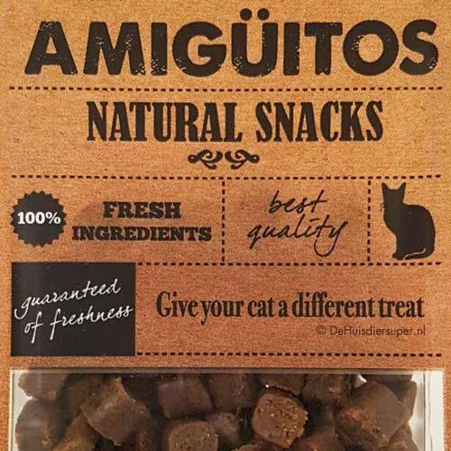 Kattensnack Amiguitos Eend | Glutenvrij