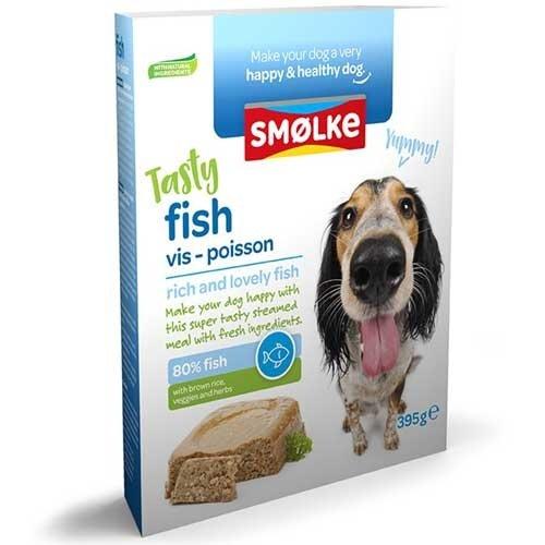 Smolke vers gestoomd Vis | Smakelijk hondenvoer | Voordelig
