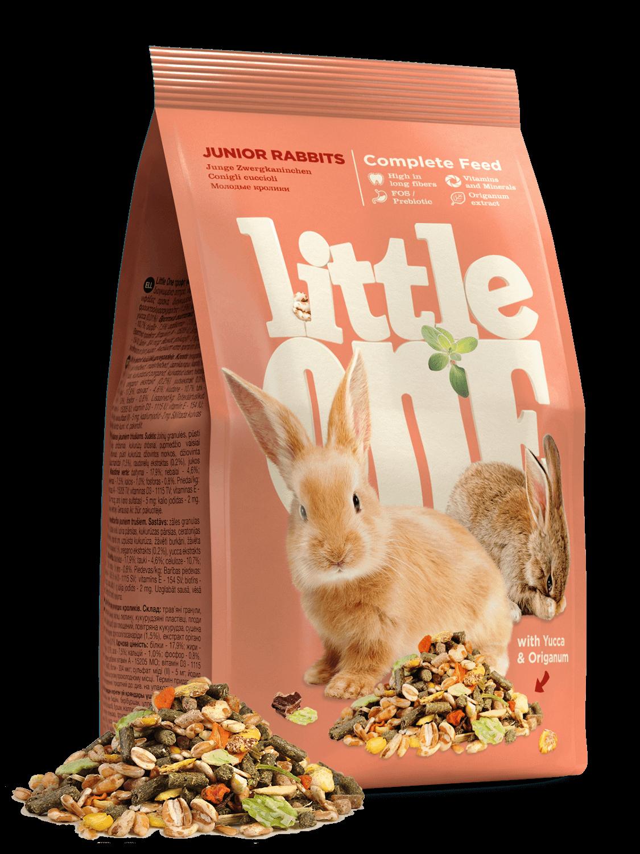 Little One konijnenvoer voor jonge konijnen