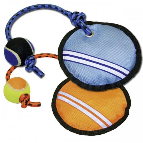 Catch me met tennisbal