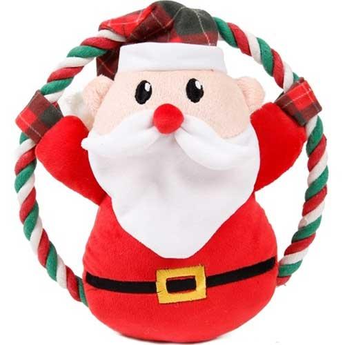 Kerstflos Santa