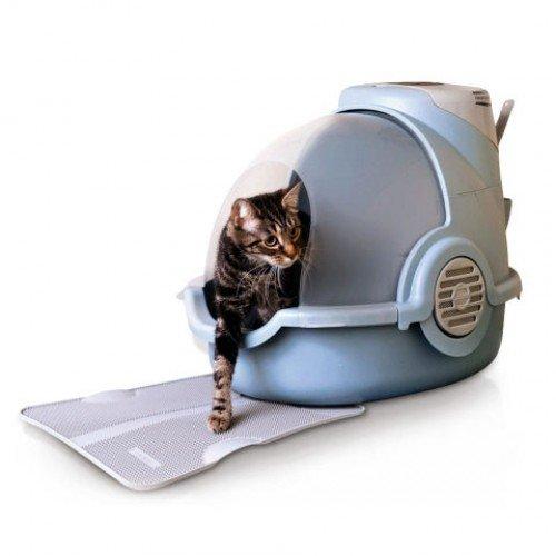Voorlegger High-Tech kattenbak - 1
