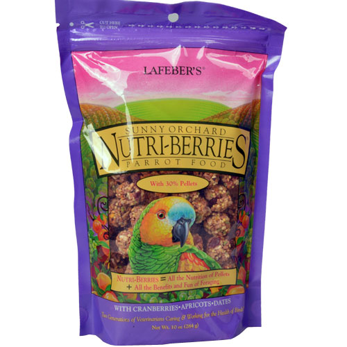 Papegaaiensnacks | Nutri Berries Sunny Orchard Papegaai 284 gram