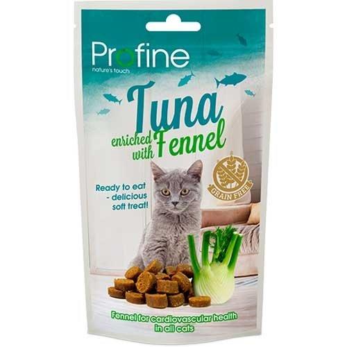 Kattensnack semi moist tonijn en venkel 50gr | Profine