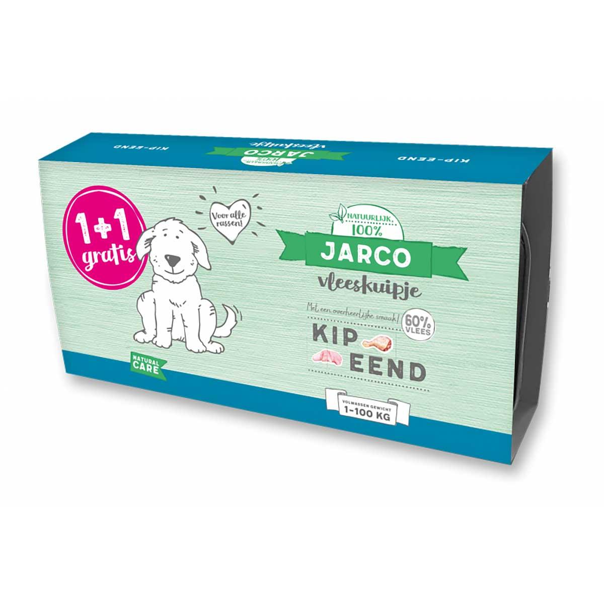 Jarco dog alu kip-eend (2-pack) 2 x 150g