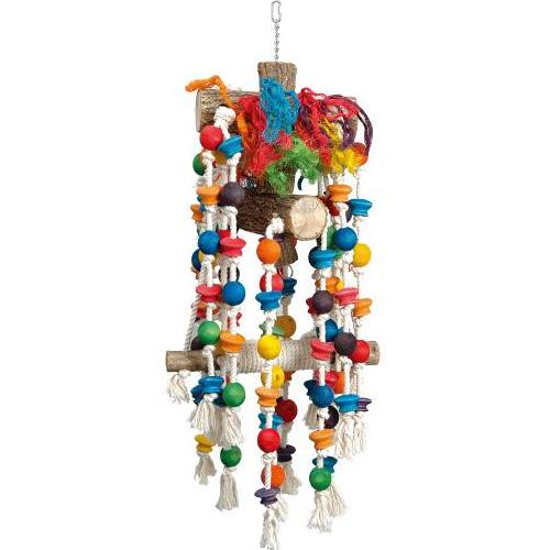 Papegaaienspeelgoed   Speelhanger voor papegaaien