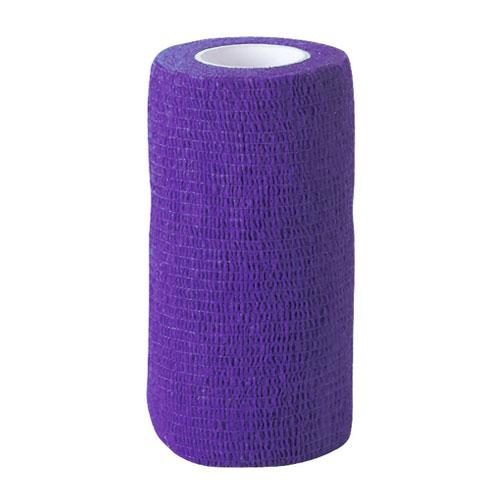 Zelfklevende bandage lila 5cm breed
