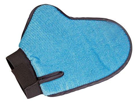Handschoenborstel en harenverwijderaar achterkant