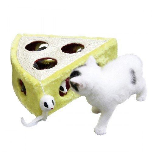 Kattenspeelgoed | Krabbelkaas met speelmuizen