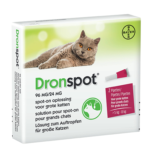 Dronspot 96mg spot-on kat 5-8kg