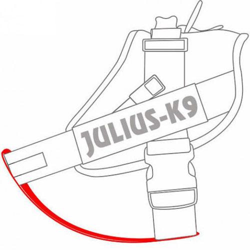 Julius K9 | Borstband voor K9 tuig