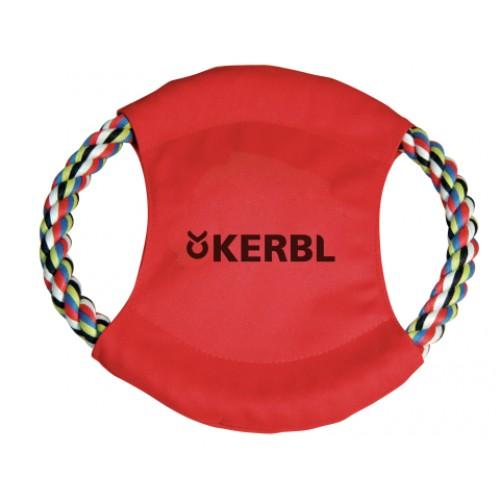 Frisbee met flostouw