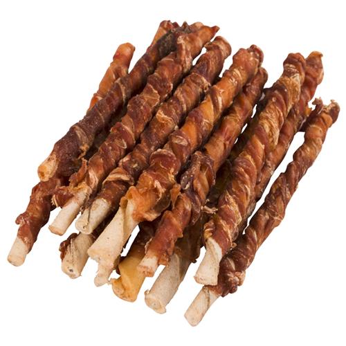 Hondensnacks   Runderhuidsticks met buffelvlees