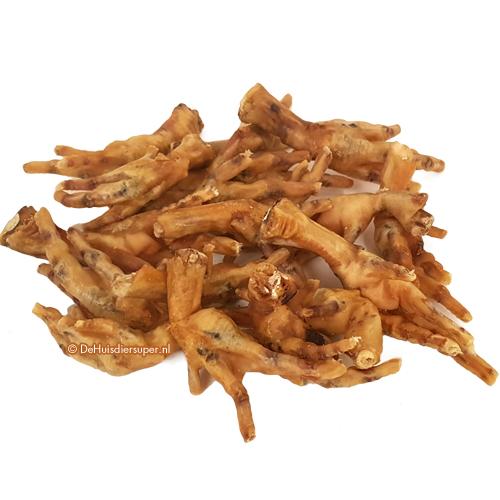 Hondensnacks   Kippenpoten 250 gram