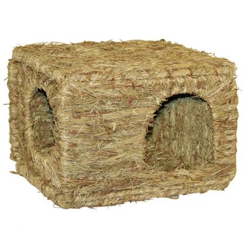 Knaagdieren | Huisjes en spelen | Grasnest XL, geschikt voor consumptie