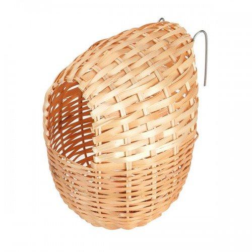 Nest voor exotische vogels 12cm.