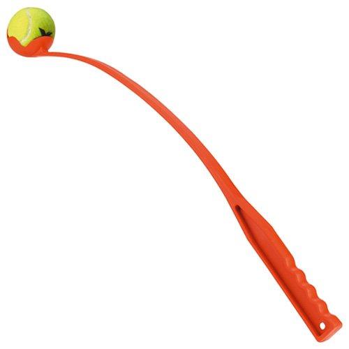 Tennisbalwerper inclusief 1 tennisbal | Lengte 65 cm.