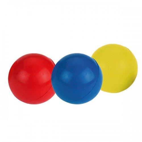 Massief rubberen speelbal voor vele uren lang speelplezier!