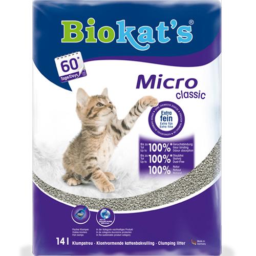 Biokat's Micro Classic | Extra fijnkorrelig klontvormend grit