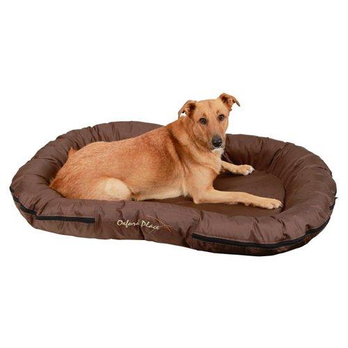 Hondenkussen Oxford bruin