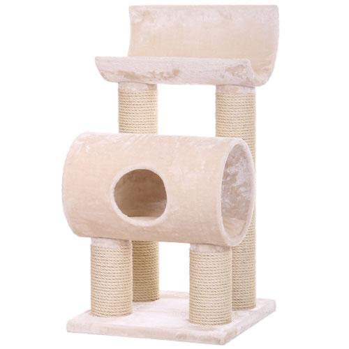Krabpaal Maine Coon Tivoli Beige | Geschikt voor zware en grote katten