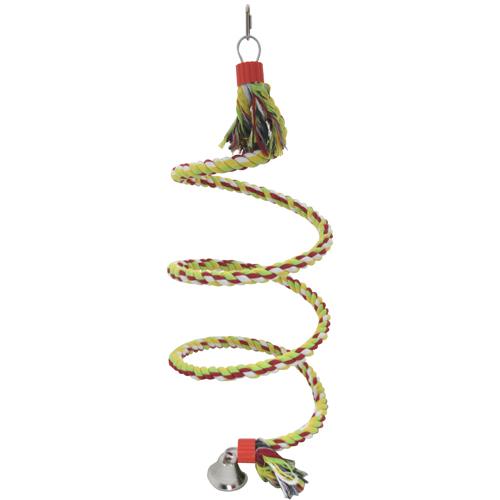 Papegaaienschommel Toy Spiral Swing Large   ruim assortiment, snel geleverd