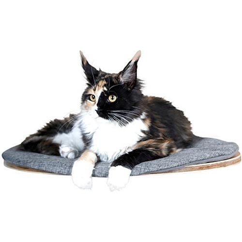 Kattenbed Tofana | Wandbed met pluche kussen