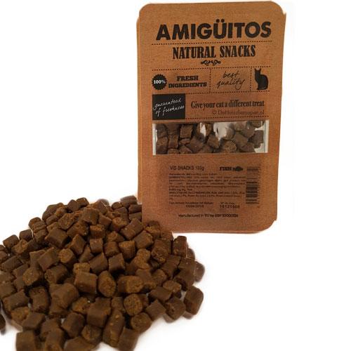 Kattensnack Amiguitos Vis   Glutenvrij