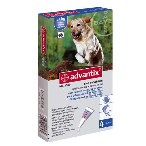 Advantix 400   Anti vlooien en teken middel voor je hond