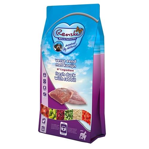 Renske Super Premium Adult Eend en Konijn 2kg