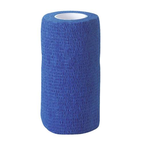 Zelfklevende bandage blauw 5cm breed
