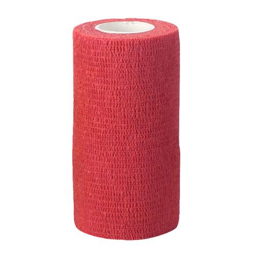 Zelfklevende bandage rood 5cm breed