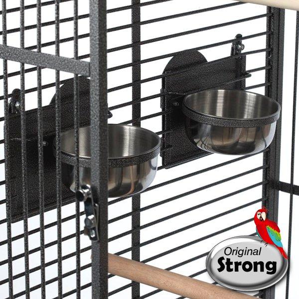 Papegaaienkooi Andrea | Papegaaien kooi | voeder en drinkbakjes