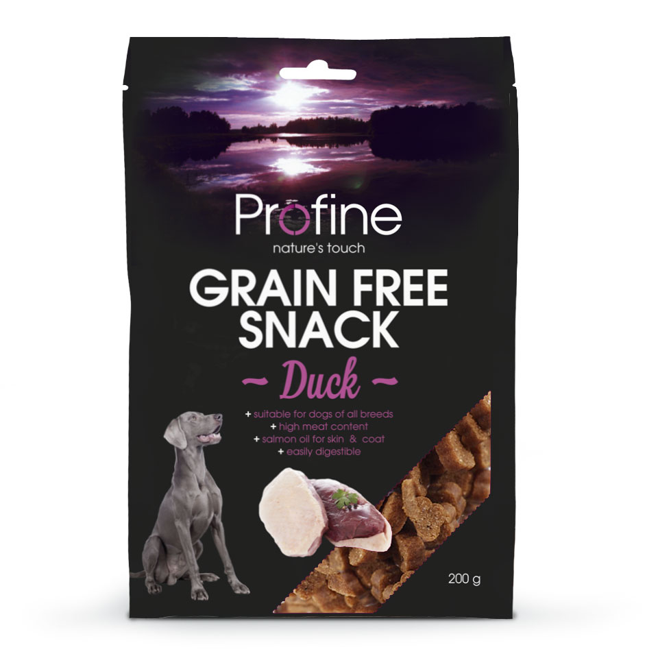 Profine graanvrije snack eend 200gr.