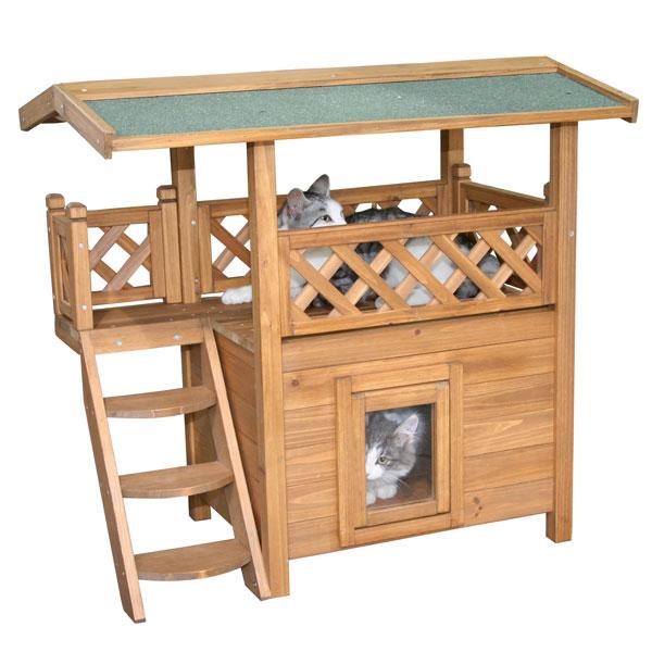 Kattenhuis Lodge -  geschikt voor binnen en buiten