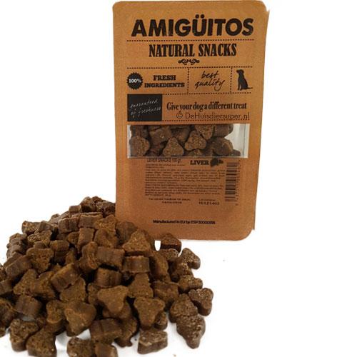 Hondensnack Amiguitos Lever | Glutenvrij