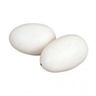 Houten kippenei (2 stuks)