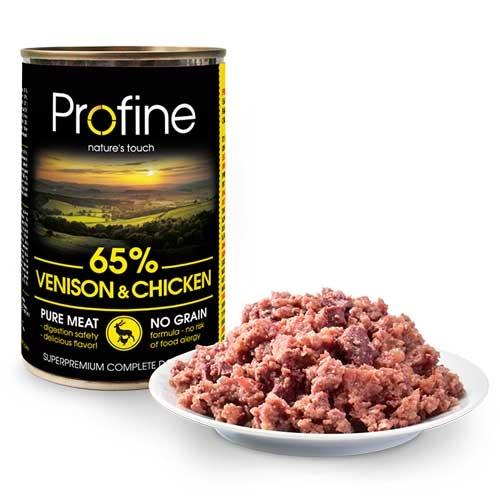 Hondensnack pure meat hert en kip | Profine