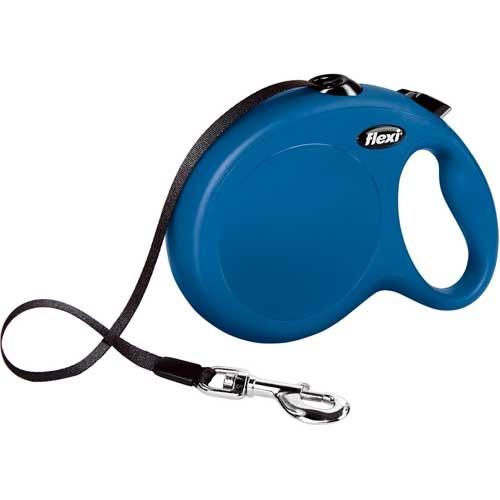 Flexi New Classic Lint L Blauw - Honden tot 50kg.