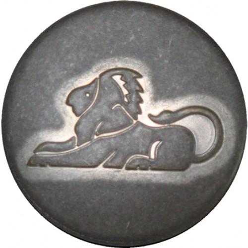 Leeuw mat zilver