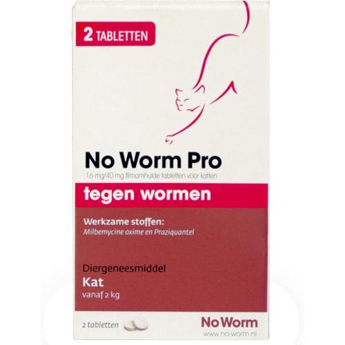 No Worm Kat | Ontworming voor je kat