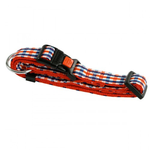 Halsband San Diego Rood  Traploos verstelbaar