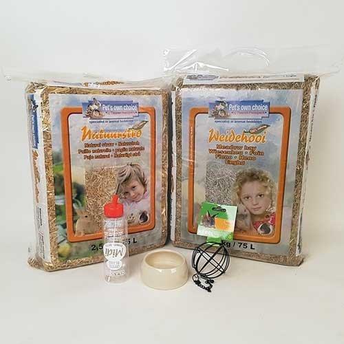 Basispakket voor knaagdieren