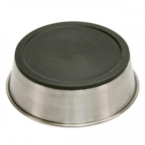 RVS voer-waterbak met anti slip onderkant - 1